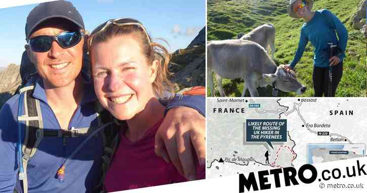 Missing Brit may not be in mountains as police look at 'other options'