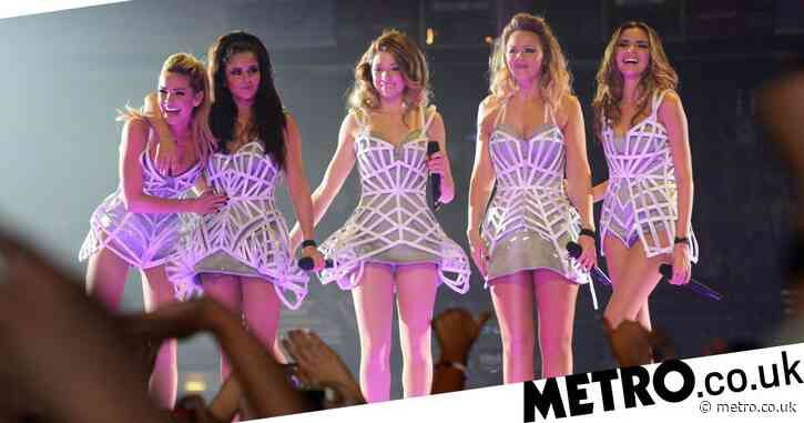 Nadine Coyle says Girls Aloud used to be 'gaffer taped' into tight stage outfits as weight fluctuated