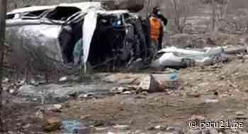 Piura: exalcalde de Morropón, Guido Ruesta, se accidenta en camioneta y fallece - Diario Perú21