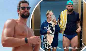James Magnussen strips down to a TINY pair of Speedos for photo with girlfriend Rose McEvoy
