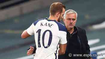 Mourinho: Kane in race to be fit for Arsenal clash