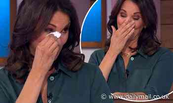 Andrea McLean is 'embarrassed' about how much she cried when she revealed Loose Women departure
