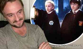 Tom Felton tears up watching Harry Potter and the Philosopher's Stone