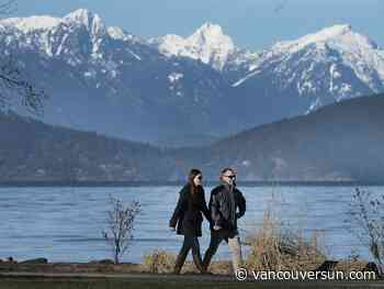 Vancouver weather: Nothing but blue skies …