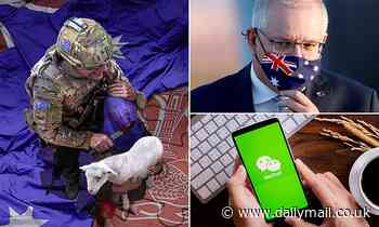 Social media giant WeChat DELETES Scott Morrison's tribute to Chinaamid tensions with Beijing
