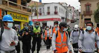 Trabajadores de Construcción Civil protestan en Mollendo contra Ripconciv - Diario Correo
