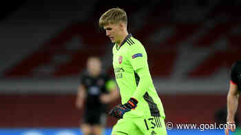 Arsenal goalkeeper Runarsson '100 per cent' up for challenge of ousting Leno as No.1