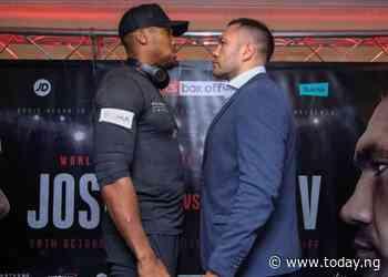 1,000 fans to watch Anthony Joshua vs Kubrat Pulev bout at Wembley