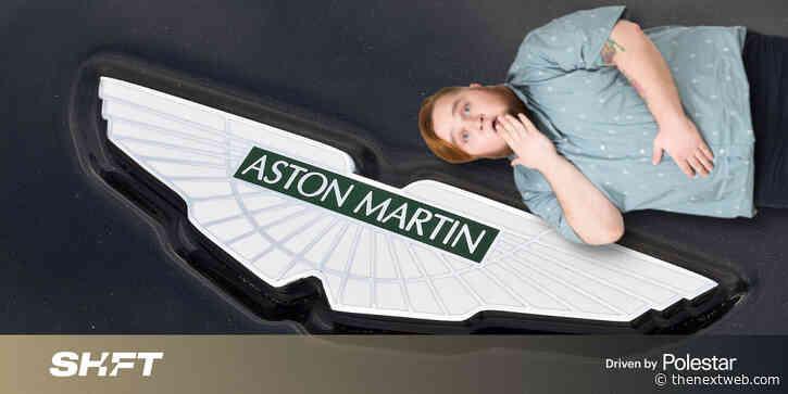 Astongate: Aston Martin exec behind 'PR firm' peddling bogus anti-EV study