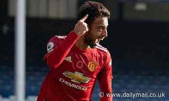Bruno Fernandes wins Manchester United Player of the Month for November