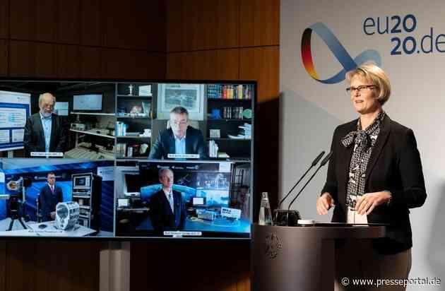 Karliczek: Mit Quantenkommunikation vertrauliche Daten um ein Vielfaches sicherer machen