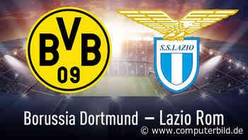 Champions League: Dortmund gegen Lazio streamen