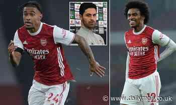 Arsenal legend Ian Wright urges Mikel Arteta to start Reiss Nelson instead of Willian vs Tottenham