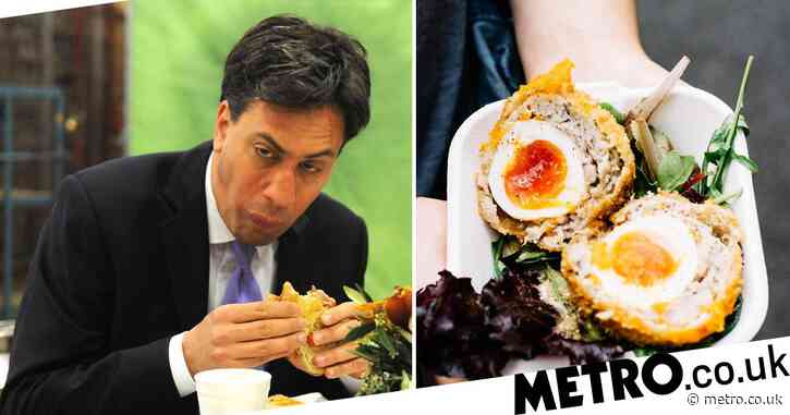 Ed Miliband says he won't be eating a scotch egg publicly