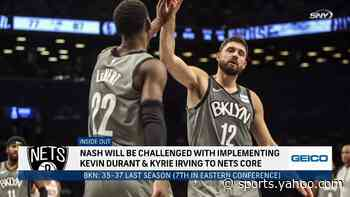 SportsNite: Challenge of implementing Kevin Durant, Kyrie Irving to Nets core