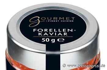 Wichtige Kundeninformation - Produktrückruf - auf Grund neuer Erkenntnisse / Forellenkaviar 50g