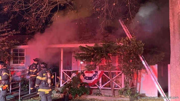 Resident, Dog Displaced After Modesto House Fire