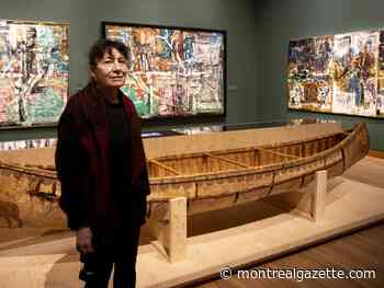 Riopelle's love of Indigenous cultures is central to MMFA exhibition