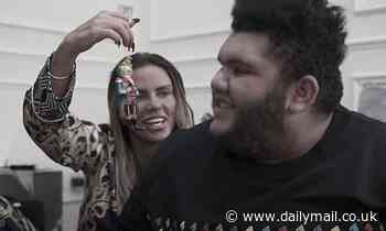 Katie Price buys her son Harvey Christmas decorations