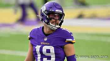 Vikings activate WR Thielen from COVID list
