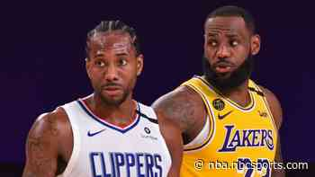 Report: Nets vs. Warriors, Clippers vs. Lakers on NBA opening night