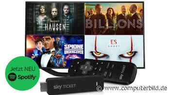 Sky Ticket: Pay-TV ohne lange Laufzeit – jetzt mit Gratis-TV-Stick