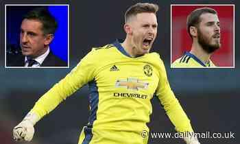 Gary Neville casts doubt over Dean Henderson at Manchester United as he backs David de Gea