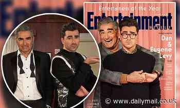 Schitt's Creek funnymen Eugene and Dan Levy prove talent runs in the family as they cover EW