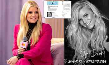 Jessica Simpson reveals she's dyslexic as she celebrates success of audiobook