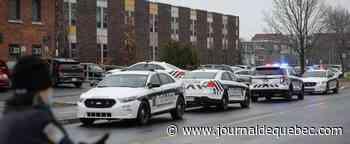 Opération policière dans une école primaire de Brossard