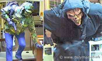 FBI hunts terrifying bank robber dubbed the 'Too Tall Bandit'