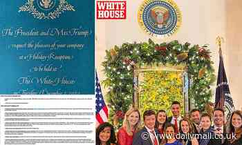 Capitol physician tells Congress NOT to go to Christmas events as GOP flocks to White House parties