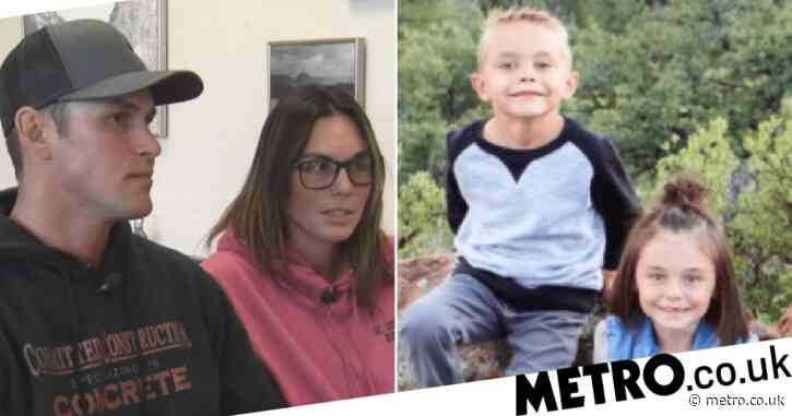 Parents who drowned three kids by driving through floodwaters deny manslaughter and abuse
