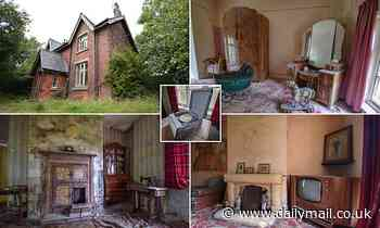 Cobweb-covered pram and dusty toys are found in farmhouse that has been silent for decades