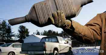 Police warn Londoners catalytic converter theft on the rise
