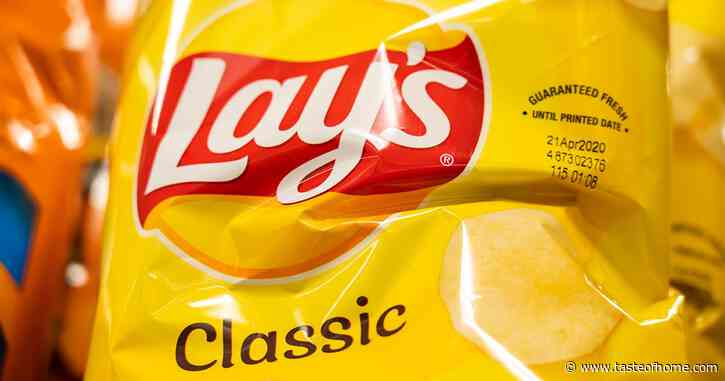 Lay's Just Dropped Salted Caramel Potato Chips, and We're Already Obsessed