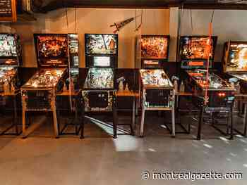 With its arcade closed, a Montreal bar is renting out pinball machines