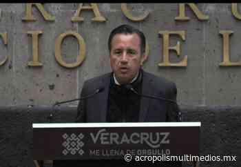 Desmiente Cuitlahuac García que renunciará a la gubernatura. - Acrópolis Multimedios