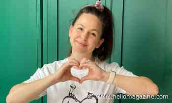 Giovanna Fletcher's youngest son has adorable way of keeping her close