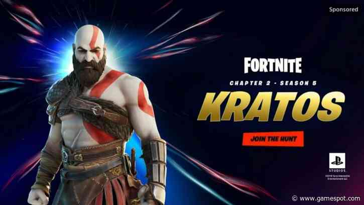 Kratos Is Coming To Fortnite, According To A Leak