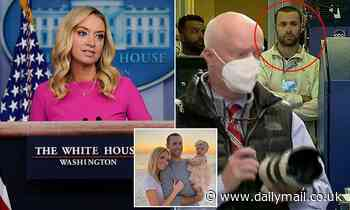 Kayleigh McEnany's maskless husband gets into confrontation withTrump's favorite photographer