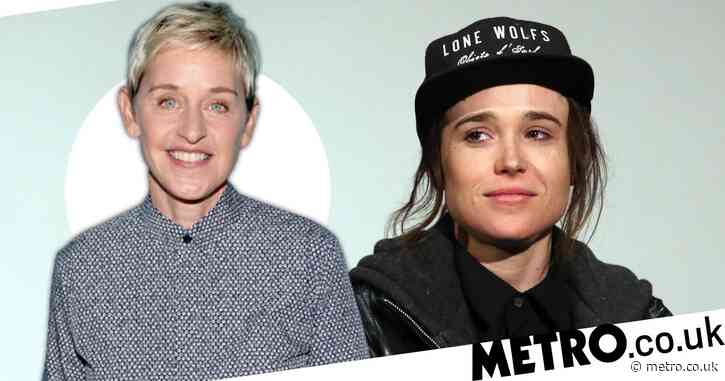 Ellen DeGeneres shares support for 'inspirational' Elliot Page as Umbrella Academy star comes out as transgender