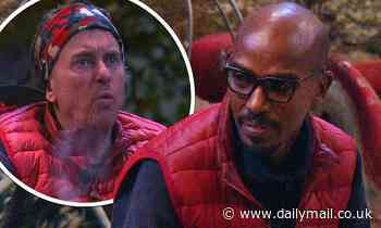 I'm A Celebrity's Sir Mo Farah channels his inner Phil Mitchell