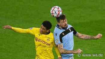 Borussia Dortmund gegen Lazio Rom JETZT im Live-Ticker: Immobile verwandelt strittigen Elfmeter zum Ausgleich