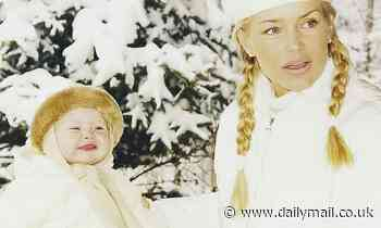Yolanda Hadid rings in holiday season by posting snowy throwback snap with daughter Gigi Hadid