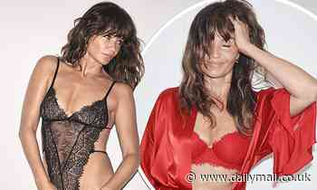 Helena Christensen, 51, showcases her incredible supermodel frame in racy lingerie