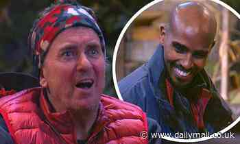 I'm A Celebrity: Shane Richie is left shocked as Mo Farah reveals he has a butler
