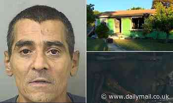 Florida man, 53, enraged by unrequited love douses woman, 61, with gasoline and sets her on fire