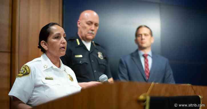 Salt Lake County sheriff to serve on national task force to study police violence