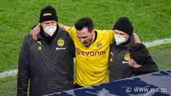 Nächster Ausfall beim BVB droht: Mats Hummels humpelt in die Kabine - das sagt Zorc